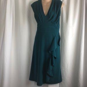 ModCloth Retro Dress Teal Green 2X NWOT